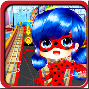 Download Subway Ladybug adventure cate For PC Windows and Mac