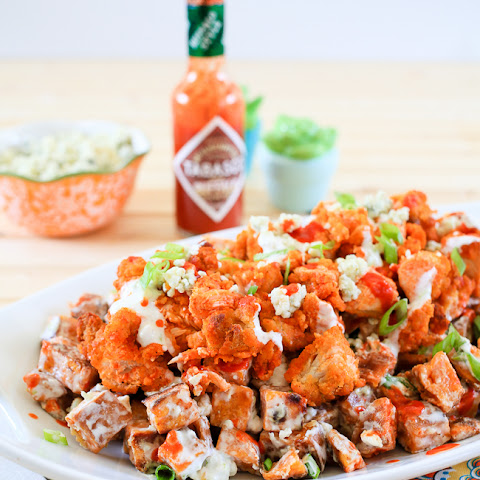 Buffalo Chicken and Sweet Potato Salad