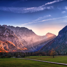 End of the Road by Stanley P. - Landscapes Mountains & Hills (  )