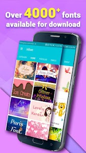 App HiFont - Cool Font Text Free + Galaxy FlipFont APK for Windows Phone