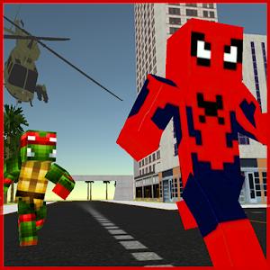 Craft Air Ninja: Spider-Shadow Resque Online PC (Windows / MAC)