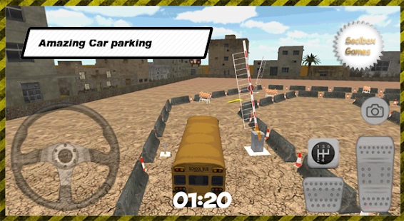 Super School Bus Parking - screenshot