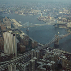View from lost twin towers by Stephen Deckk - Buildings & Architecture Public & Historical