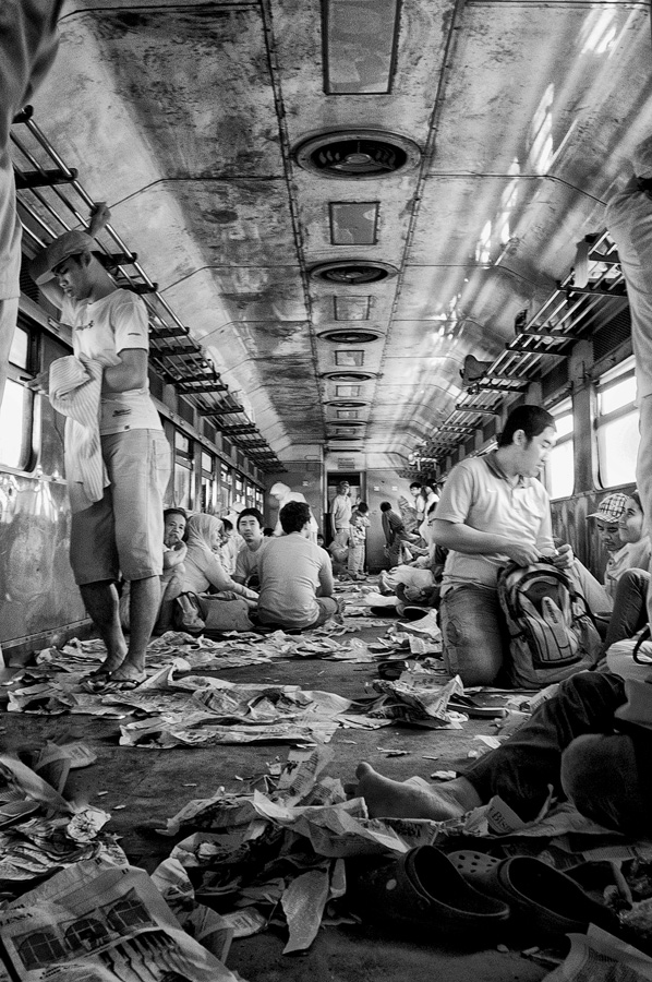 my train carriages by Dhen Bagoes - News & Events World Events ( black and white )