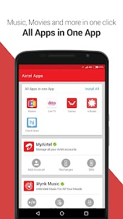 App My Airtel: Recharge, Pay Bills APK for Windows Phone