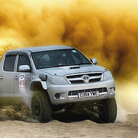 Ronie by Abdul Rehman - Sports & Fitness Motorsports ( rally, pakistan, thrill, natural light, adventure, desert, dangerous sport, dust, sunlight, dangerous, baluchistan, dusty )