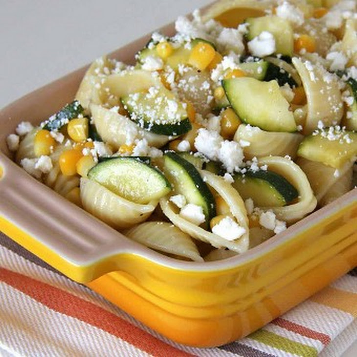Zucchini and Corn Pasta Salad Recipe | Yummly