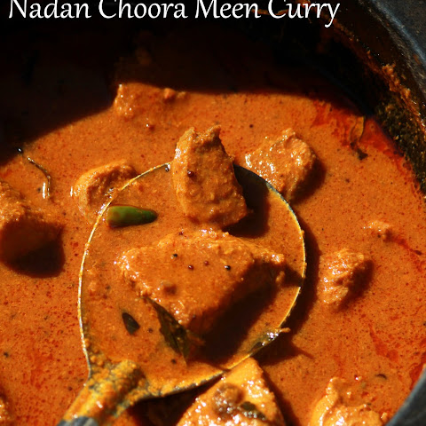 Kerala Style Tuna Curry-Nadan Choora Meen Curry