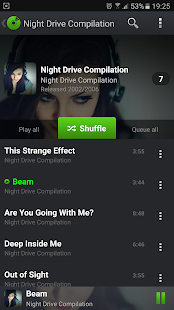 PlayerPro Music Player Trial Screenshot