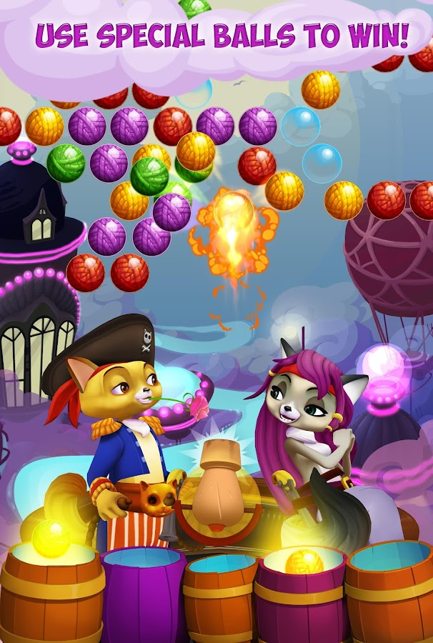 Kitty Pop Pirates Screenshot 4