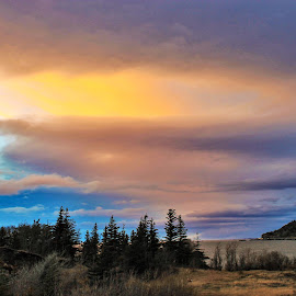Colors in The Sky by Patricia Phillips - Landscapes Travel ( colors alaska clouds colors )
