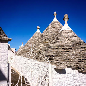 Trullie Houses in Alberobello, Italy  by Ginny Serio - Buildings & Architecture Homes ( #homeawayfromhome )