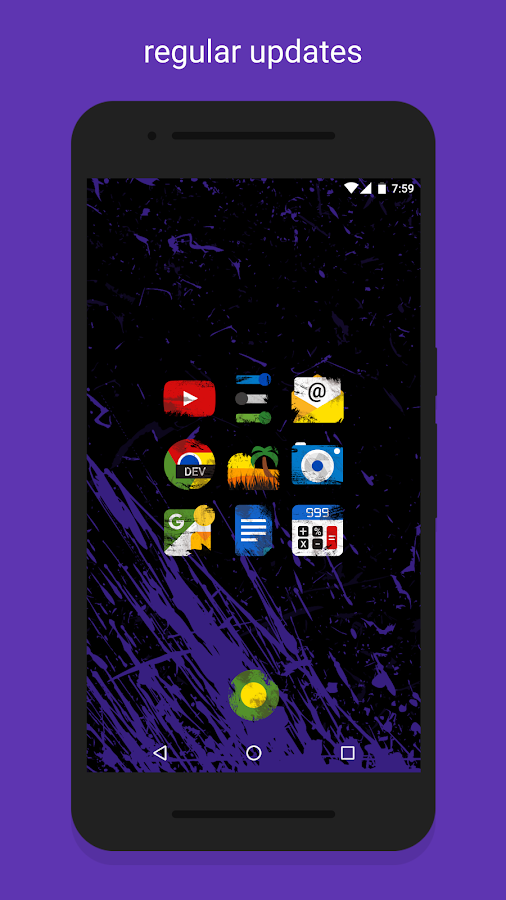 Ruggon - Icon Pack Screenshot 2