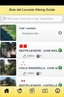 Baie del Levante Hiking Guide - screenshot
