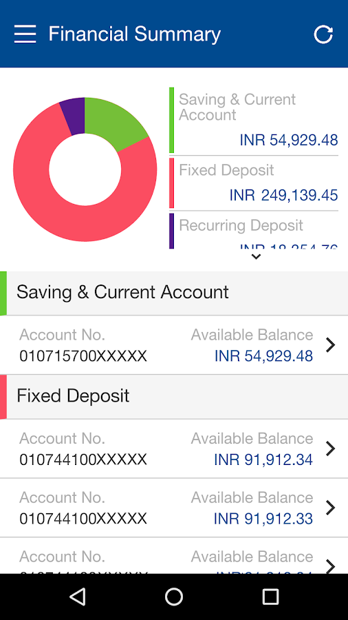 HDFC Bank MobileBanking Screenshot 7