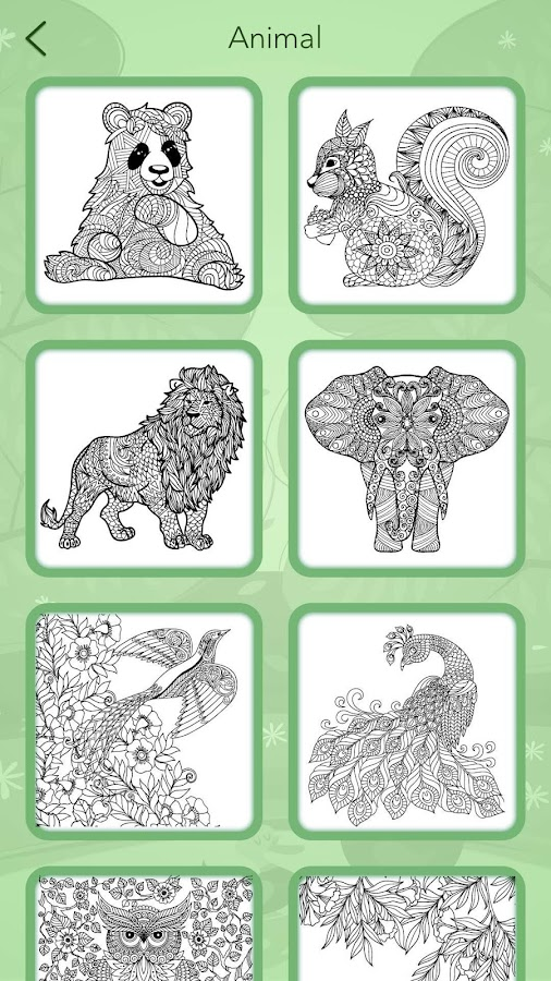 Animal Coloring Book Screenshot 7