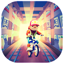 Subway BMX Guardian Games free