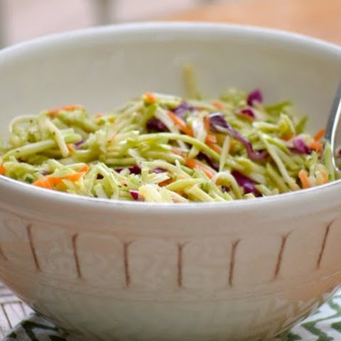 Broccoli Slaw with Apple Cider Vinegar Dressing