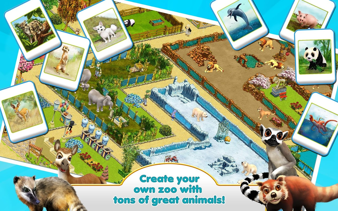 MyFreeZoo Mobile Screenshot 7