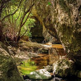 Peaceful by Tyson Davis - Landscapes Deserts ( water, landscape, rocks, photography, river )