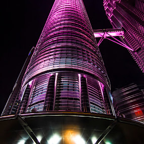 KLCC IN PINK by Azmand Rosland - Buildings & Architecture Office Buildings & Hotels
