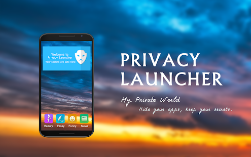 Privacy Launcher-Lock,Private - screenshot