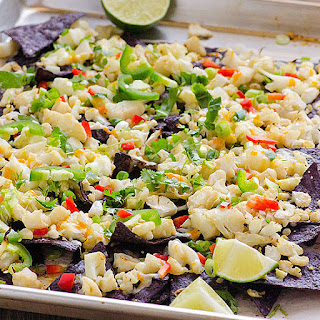 Cauliflower Purple Corn Nachos