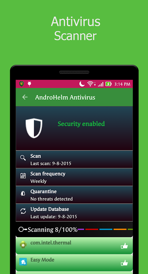 AntiVirus Android Security Screenshot 1