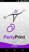 Screenshot of Party Print