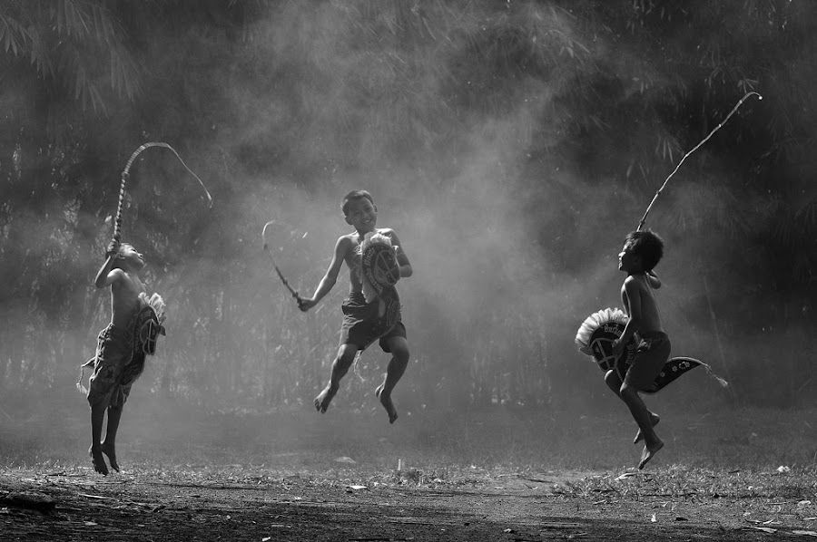 jump together by Deddy Hariyanto - Babies & Children Children Candids