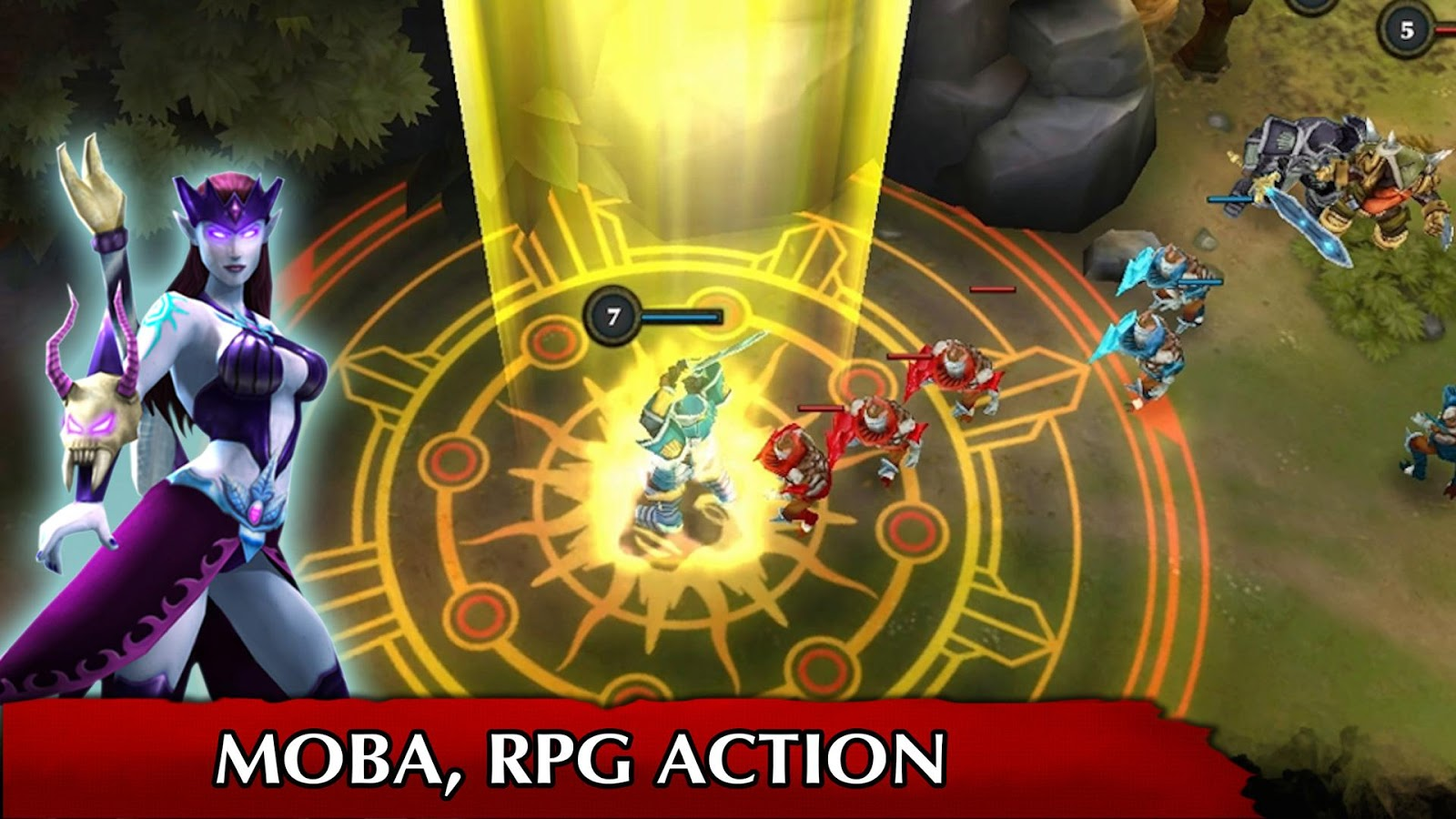 Legendary Heroes MOBA Screenshot 8