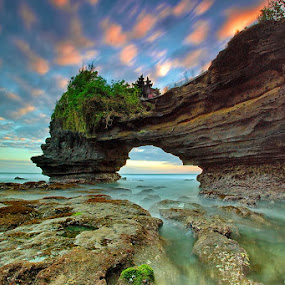 Sacred Rock by Agoes Antara - Landscapes Sunsets & Sunrises