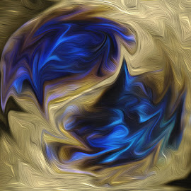Soul stone by Jody Bédard - Painting All Painting ( painted, painting with light, art, artistic, painting, artwork )