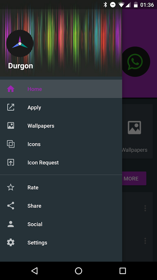 Durgon - Icon Pack Screenshot 7