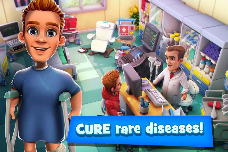 Dream Hospital - Health Care Manager Simulator Screenshot 1