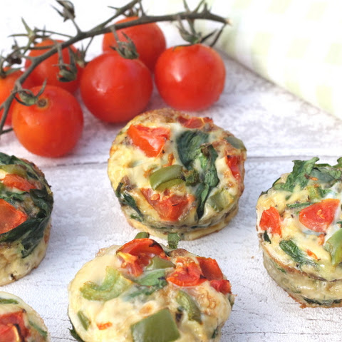 how to make egg muffins with spinach