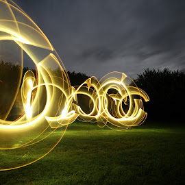 Vortex by Augustin Cross - Abstract Light Painting ( vortex, circles, light painting )