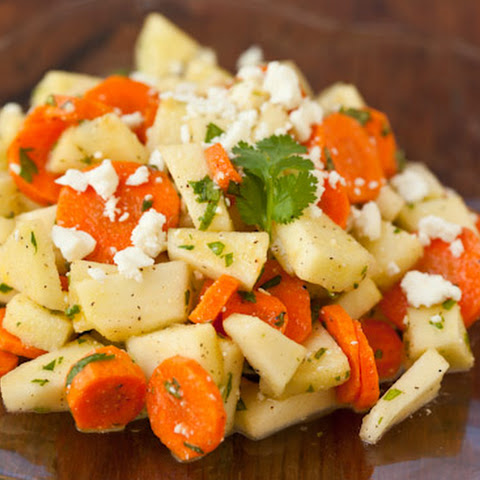 Apple Carrot Salad with Cilantro