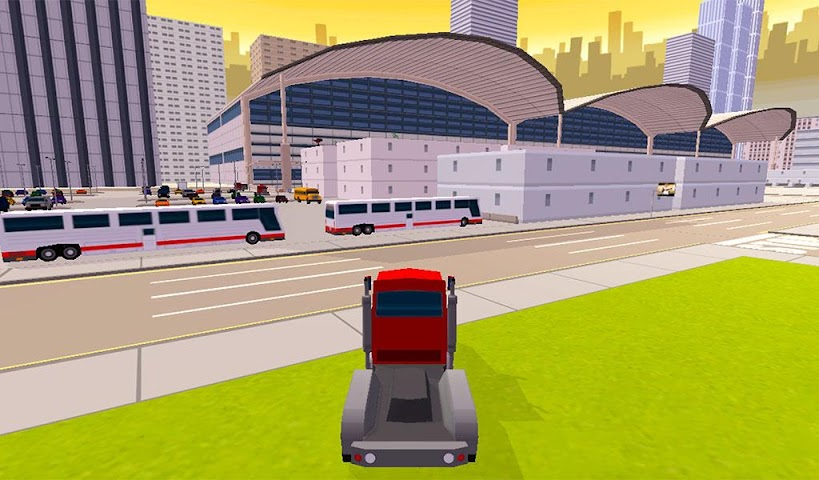 android Real City Driver 3D Screenshot 1