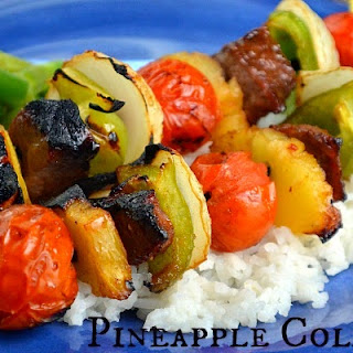 Pineapple Cola Kabobs