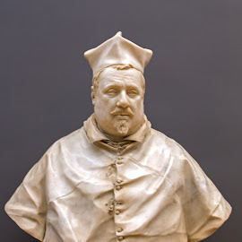 Cardinal Scipione Borghese (1577–1633) by Judy Florio - Artistic Objects Antiques ( renaissance, sculpture, italian, bust, art, museum )
