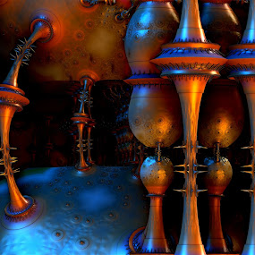 Steampunkin by Ricky Jarnagin - Illustration Abstract & Patterns ( abstract, ricky jarnagin, mandelbulb, dsynegrafix, 3d art, fractal )