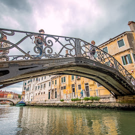 venice bridges by Zoran Osijek - Buildings & Architecture Bridges & Suspended Structures ( venice, italy )