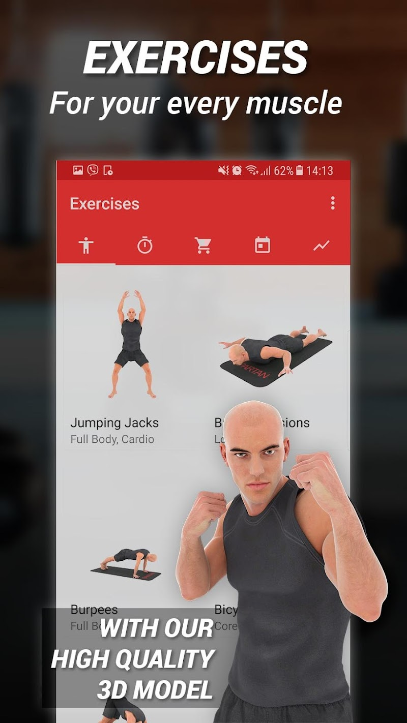 MMA Spartan System Workouts & Exercises Pro Screenshot 3
