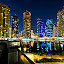 JLT .. DUBAI AT NIGHT  by Wael Onsy - Buildings & Architecture Other Exteriors