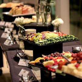 Buffet time by Joel Ortiz - Food & Drink Fruits & Vegetables ( buffet, foodie, green, vegetables, cheese )