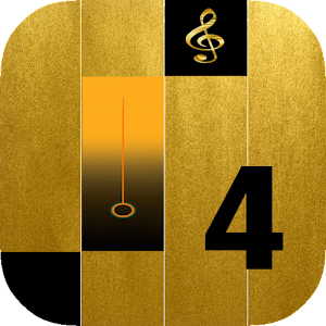 Download Piano Gold Tiles for PC
