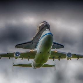 Shuttle Endeavor's retirement flight by John Kincaid - Transportation Airplanes
