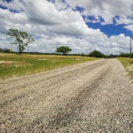 Road to Nowhere by Jo Stavena - Landscapes Travel ( sky, view, scenic, road, landscape )