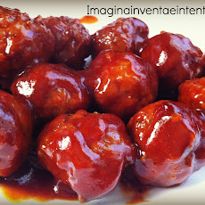 Slow Cooker Barbecue Sauce Meatballs